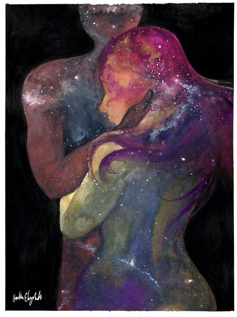 What is a soulmate? It's not what you think.... Journal Watercolors  watercolor artist soulmates illustrators astrology